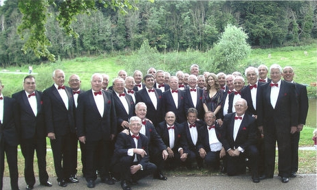 The Maesteg Gleemen Male Voice Choir from Wales